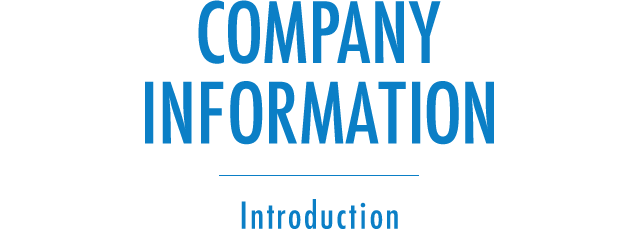 Introduction | Company Information